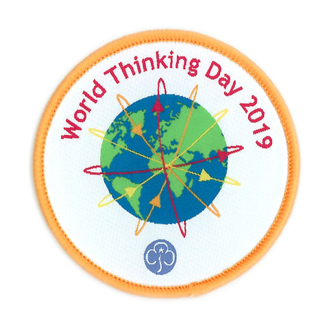 World Thinking Day 2019 Woven Badge