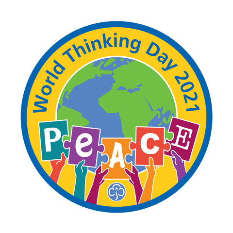 World Thinking Day 2021 Woven Badge
