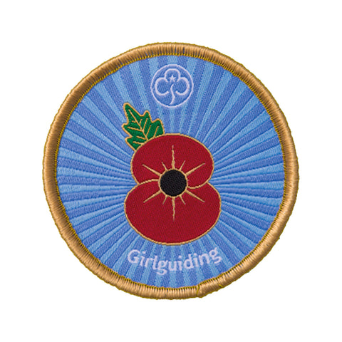 Remembrance Poppy Badge