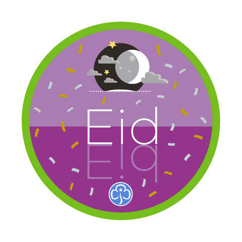 Eid Holiday Woven Badge