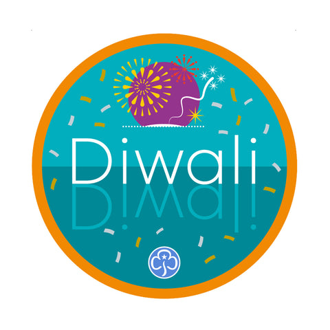 Diwali Holiday Woven Badge