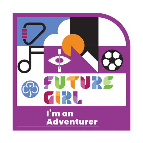 Future Girl I'm A....Woven Badge