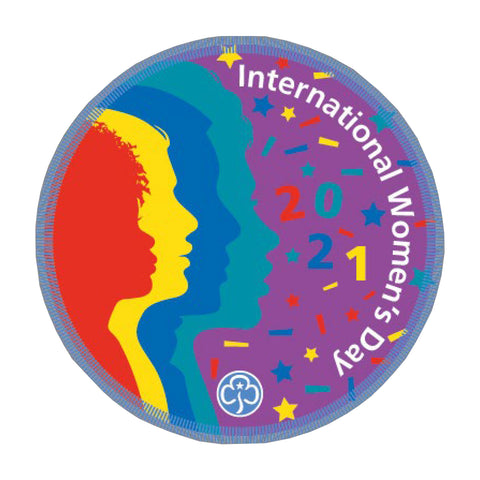 International Women's Day 2021 Woven Badge