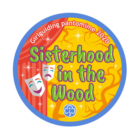 Sisterhood in the Wood Woven Badge