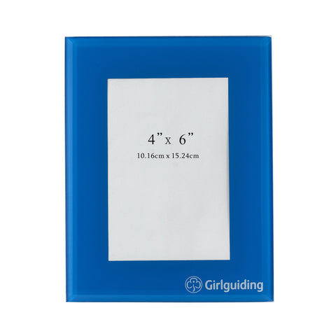 Girlguiding Photo Frame Blue