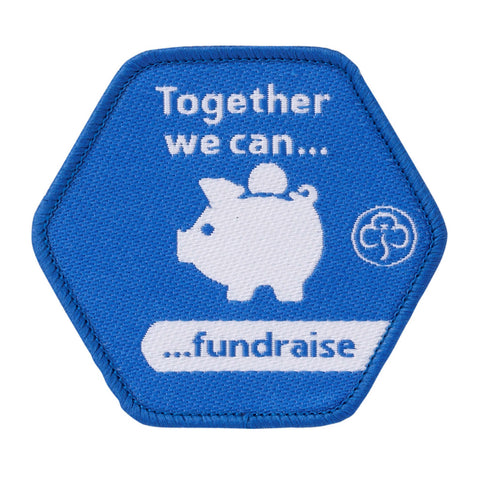 Together We Can Fundraise Woven Badge