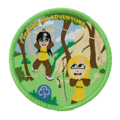 Brownie Adventure Camp Woven Badge