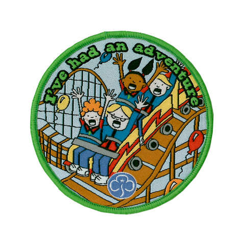 Guides I've Had an Adventure Theme Park Woven Badge