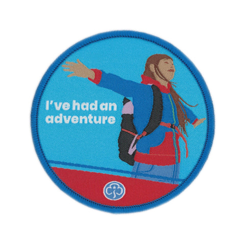 Guides I've Had an Adventure Woven Badge