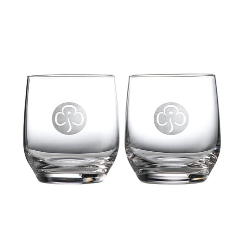 Tumbler Pair Crystal