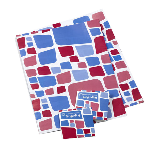Girlguiding Tile Wrapping Paper & Tags