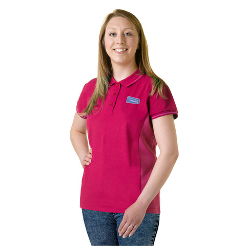 Girlguiding Raspberry Polo Shirt New Design