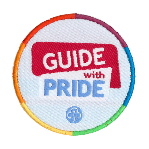 Guide With Pride Woven Badge