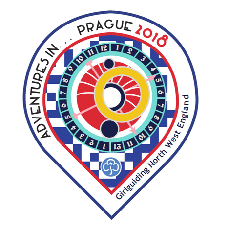 Adventures in Prague Woven Badge