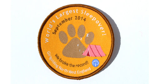 World Record Sleepover - Wild Encounters Badge