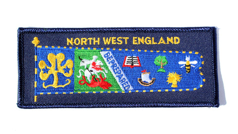 Girlguiding North West England Region Standard  Badge