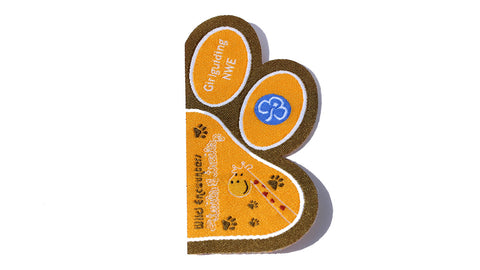 Wild Encounters Tails & Trails Paw Half Badge