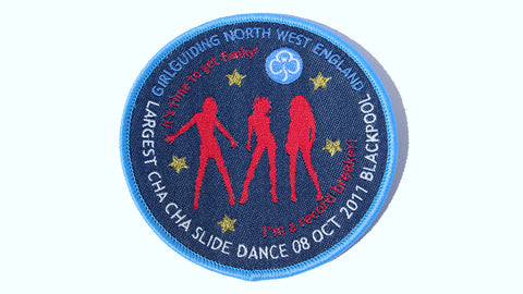 Cha Cha Slide Badge