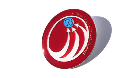 Girlguiding North West England Region Logo Enamel Badge
