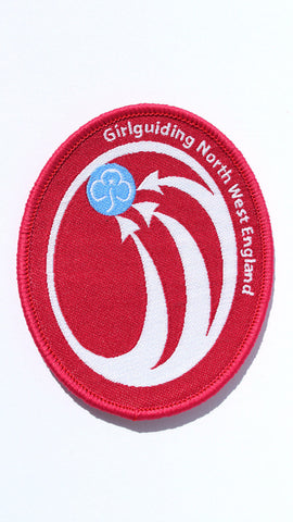 Girlguidng North West England Region Logo Woven Badge