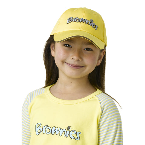 Brownie Baseball Cap with sun protection flap