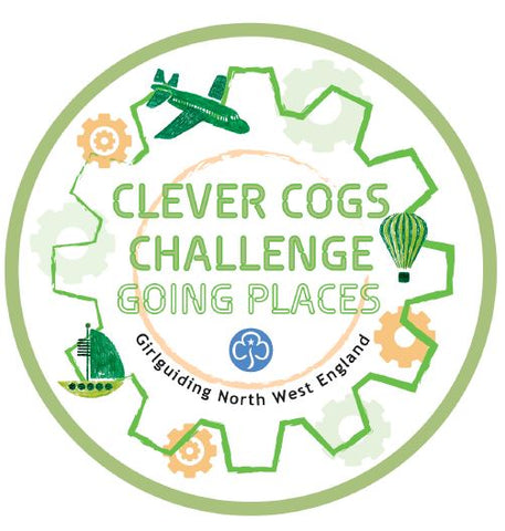 Clever Cogs Challenge Going Places Woven Badge