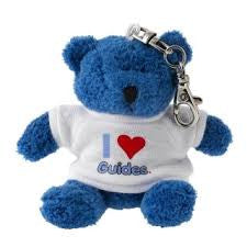 I Love Guides Teddy Clip