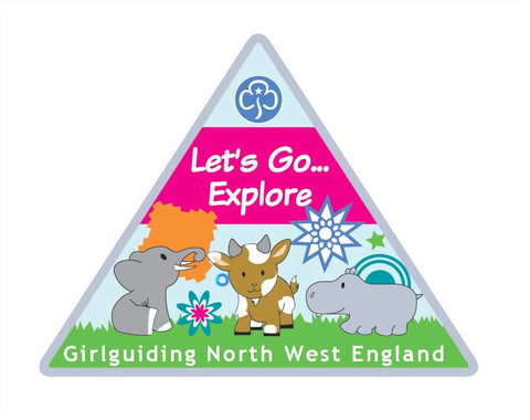 Let's Go ... Explore Region International Challenge Badge