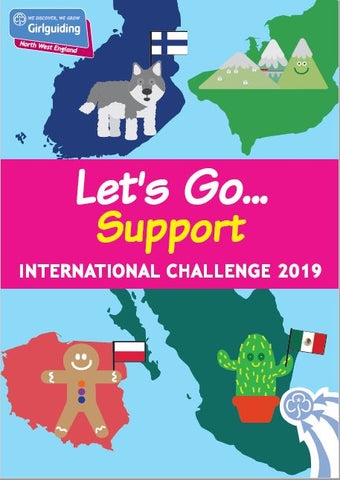Let's Go . . . Support - International Challenge Pack 2019