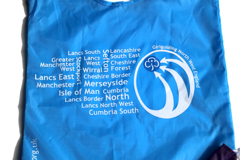 Girlguiding North West England Fold-Up Shopper Bag