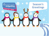 Girlguiding North West England Christmas Cards Polar Bears and Penguins