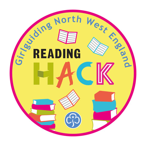Reading Hack Woven Badge