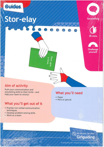 Guides - Unit Meeting Activity Pack 2 - Stor-elay/Pass It On
