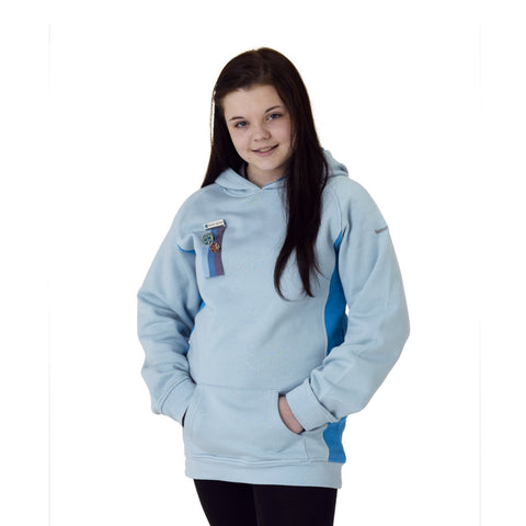 The Senior Section Hoodie Aqua/Ice