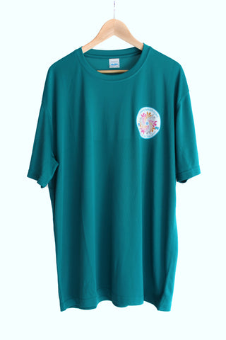 Region Senior Section Centenary T-shirt in Jade