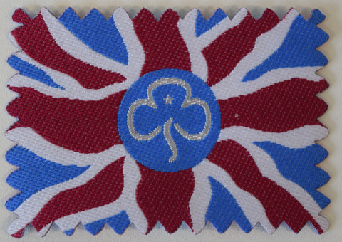 Girlguiding Colours Union Flag Woven Badge