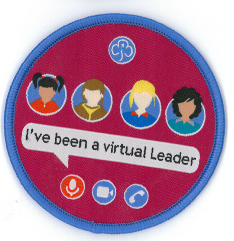 I've Been a Virtual Leader Woven Badge