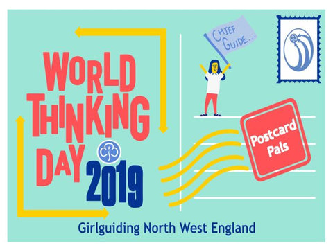 World Thinking Day 2019 - Postcard Pals - If I Were Chief Guide