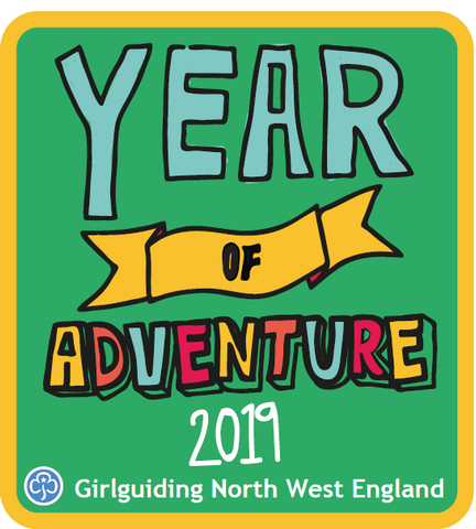 Year of Adventure 2019 Woven Challenge Badge