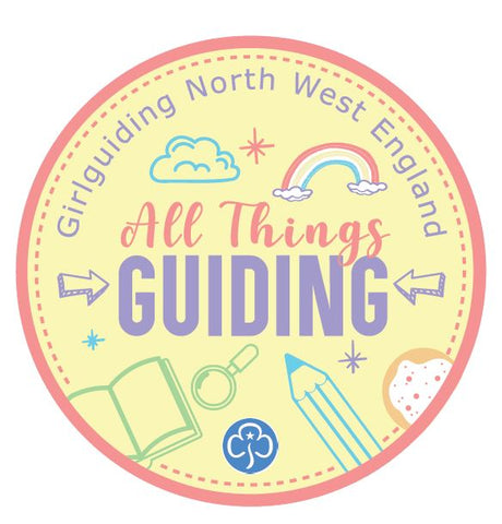 All Things Guiding - Self Care Activity Woven Badge