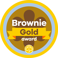 Gold Award Badges
