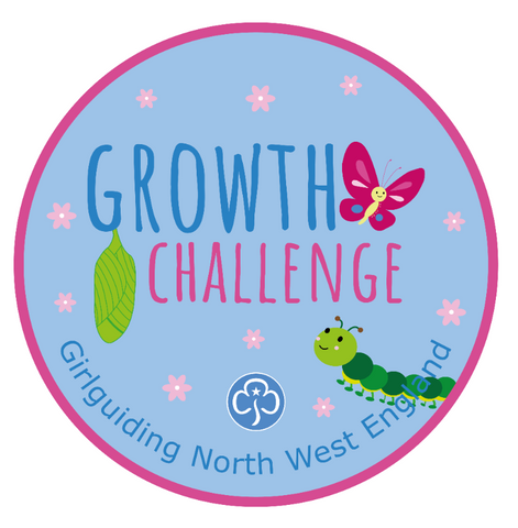 Growth Challenge Woven Badge
