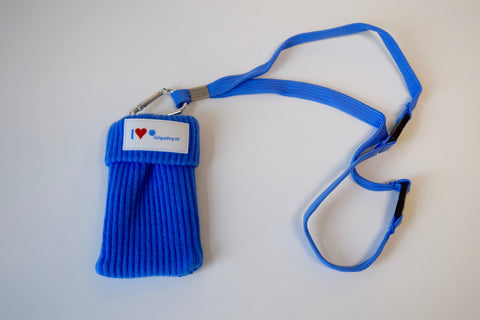 I Love Girlguiding UK Phone Sock