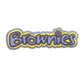 Old Style Brownie Logo PVC Badge