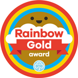 Gold Award Woven Badge