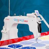 New Q'nique 15PRO Quilting Machine with 10 ft Q'nique Frame