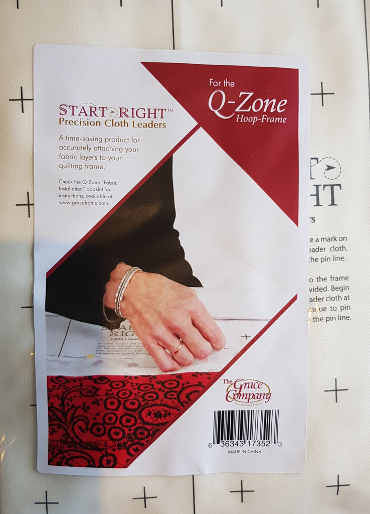 START-RIGHT PRECISION CLOTH LEADERS for q-Zone Hoop Frame