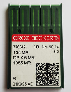 GROZ-BECKERT QUILTING NEEDLES 134MR SET OF 10 NEEDLES*
