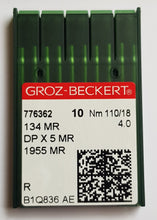 Load image into Gallery viewer, GROZ-BECKERT QUILTING NEEDLES 134MR SET OF 10 NEEDLES*
