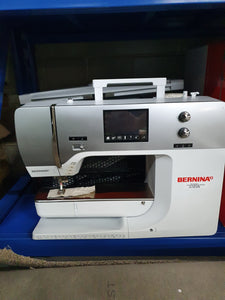 Bernina 750QE Sewing Machine with Embroidery unit 2nd Hand